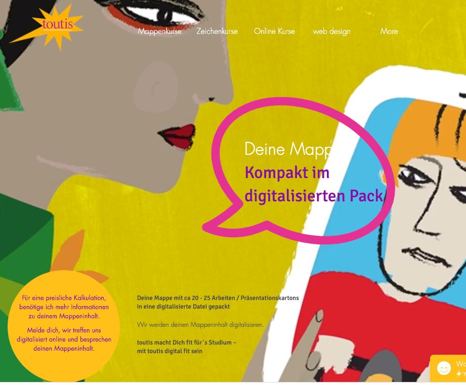 Online digitale Mappe