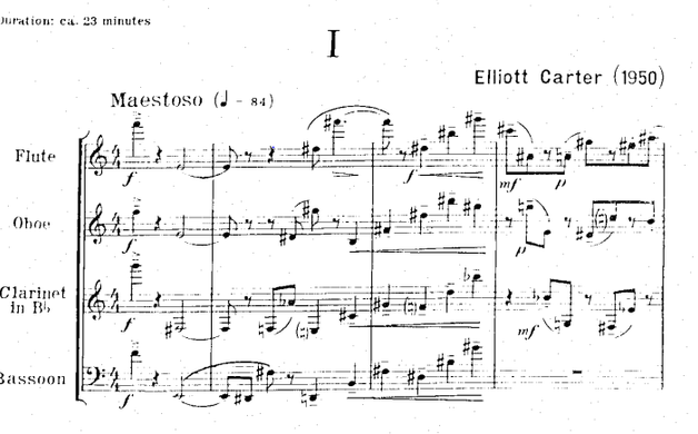 ELLIOTT'S 8 ETUDES AND A FANTASY FOR WOODWIND QUARTET
