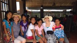 Sarabeth Felushko in the Philippines