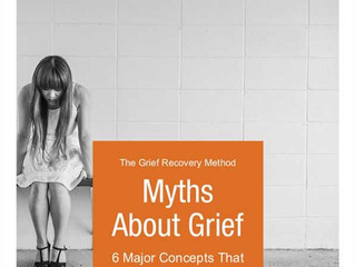 The Major Myths About Grief | E-Book