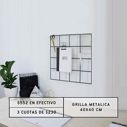 PROMO: Grilla Metálica 40x40