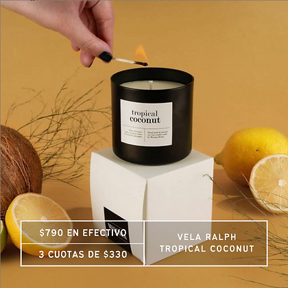 PROMO: Vela Ralph Black - Tropical Coconut