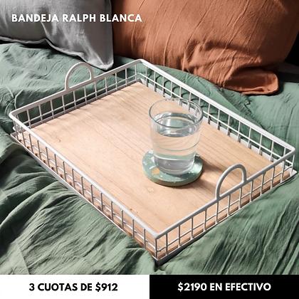 Bandeja Ralph Blanca