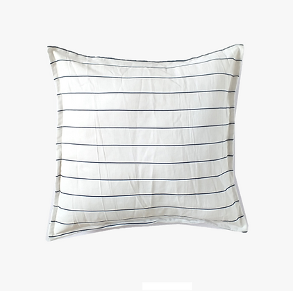 Almohadón Stripes 50x50 White