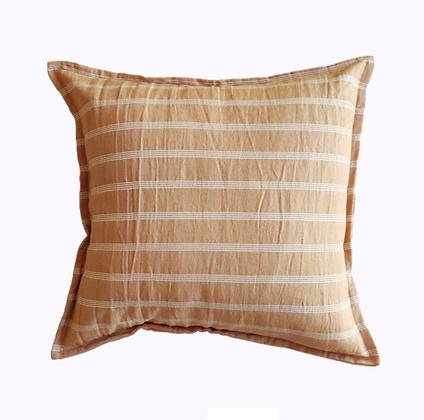 Almohadón Stripes 50x50 Canela