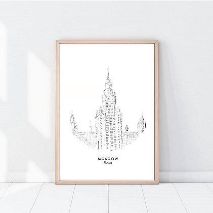 Lámina Moscow