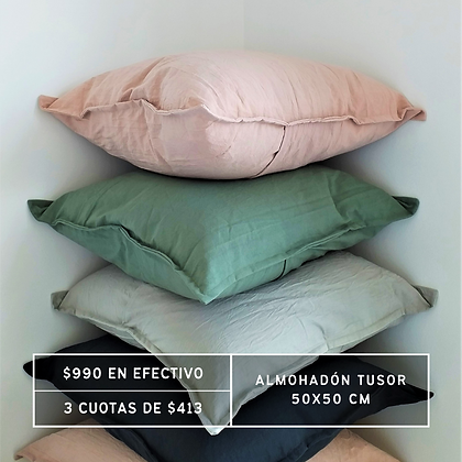 PROMO: Almohadón Tusor 50x50 cm