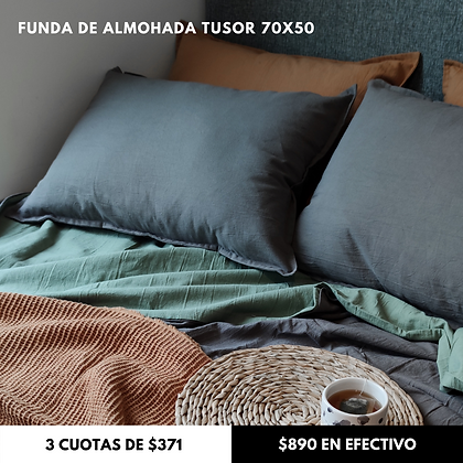 Funda de almohada Tusor 70x50 cm