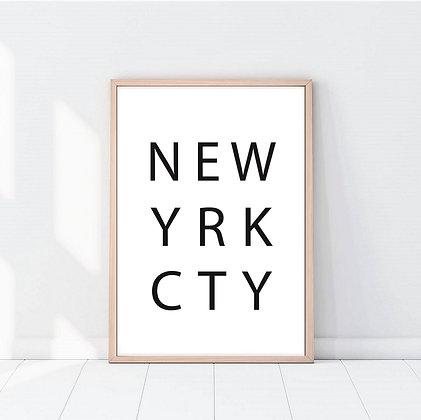 Lámina New York City