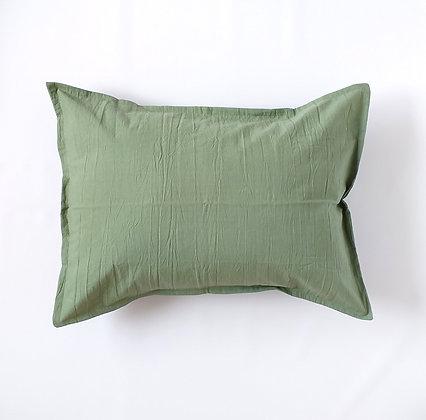 Almohada Tusor 70x50 Verde Seco