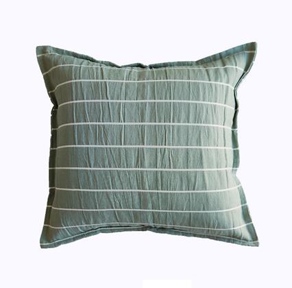 Almohadón Stripes 50x50 Verde Seco