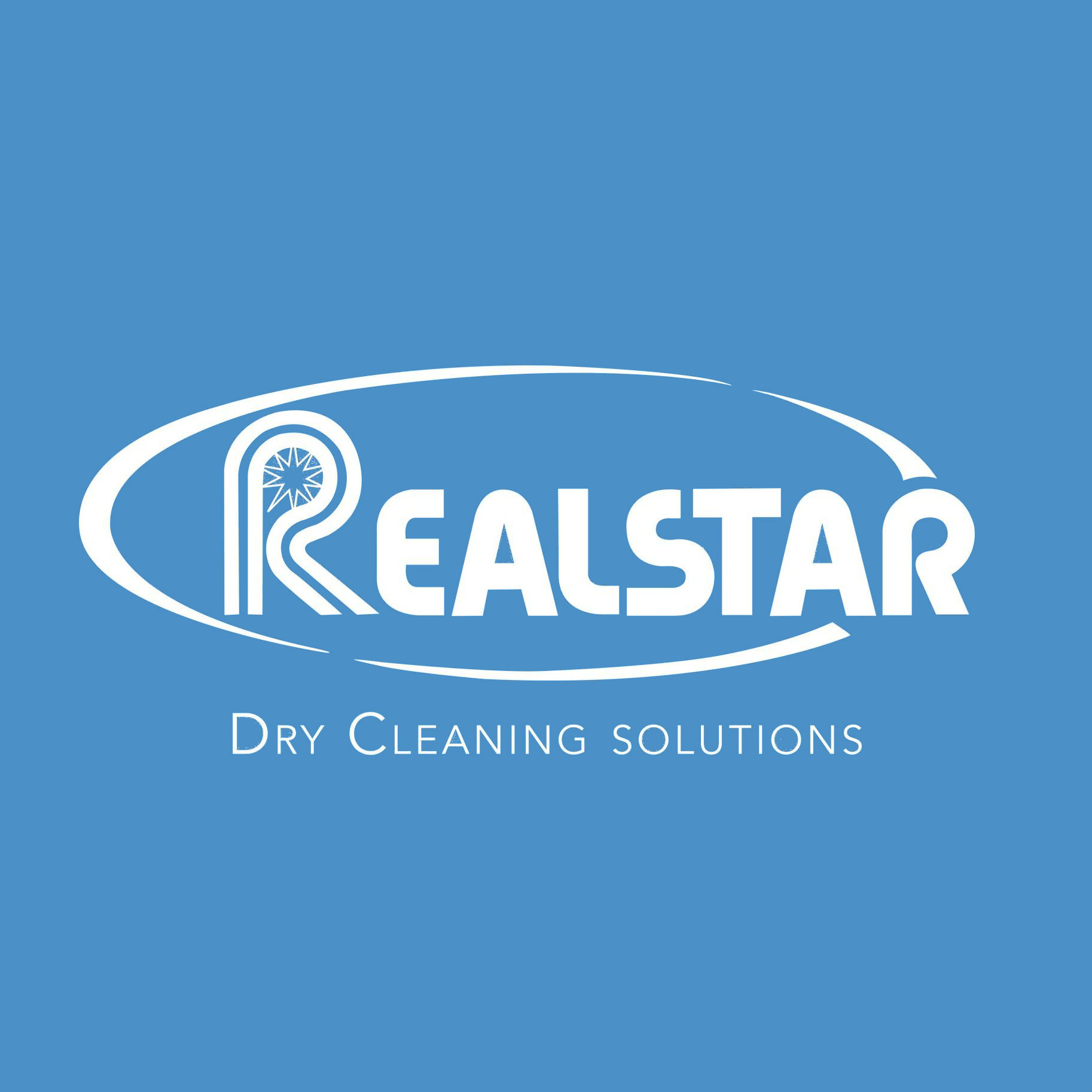 Realstar Dry Cleaning Logo