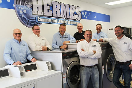 Hermes Laundry Frontload commercial washers speed queen