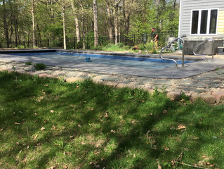 Pool and House Landscape & Hardscape