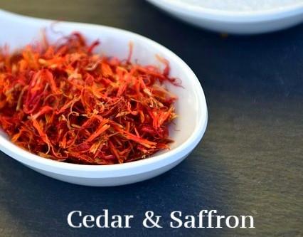Cedar & Saffron