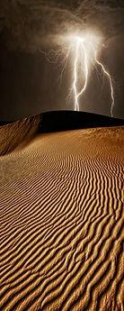 Desert Lightning Storm