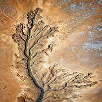 Aerial Photograph Tidal Creek