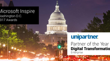 Unipartner Partner of the Year - Digital Transformation Enterprise