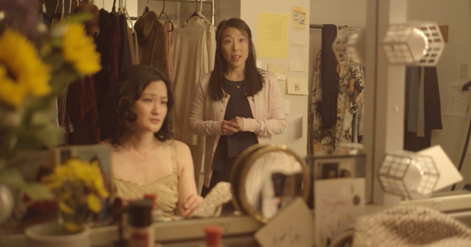 Michalyn Steiner-Killian and Annie Yim in FOUND. Cinematography by Jeanette Li.