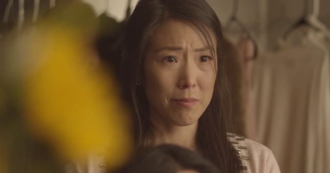Annie Yim in FOUND. Cinematography by Jeanette Li.