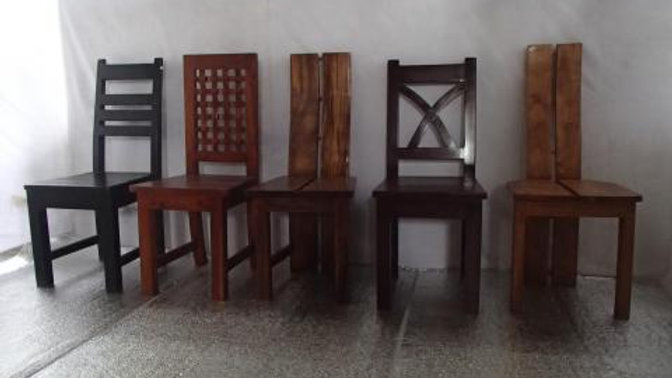 Wooden Dining Room Chairs (Various styles)
