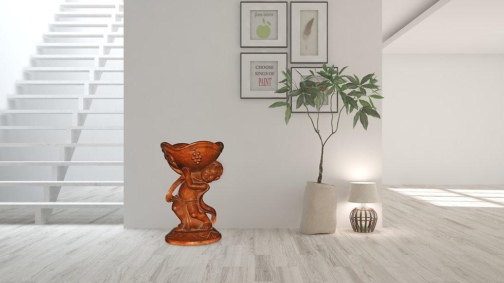 """Wooden Baby Dreamer Fruit Bowl  (30cm / 12"""")"""