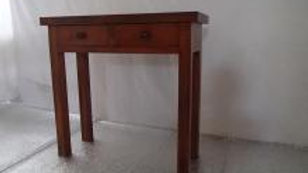 Console w/ 2 drawers (Dark Brown)