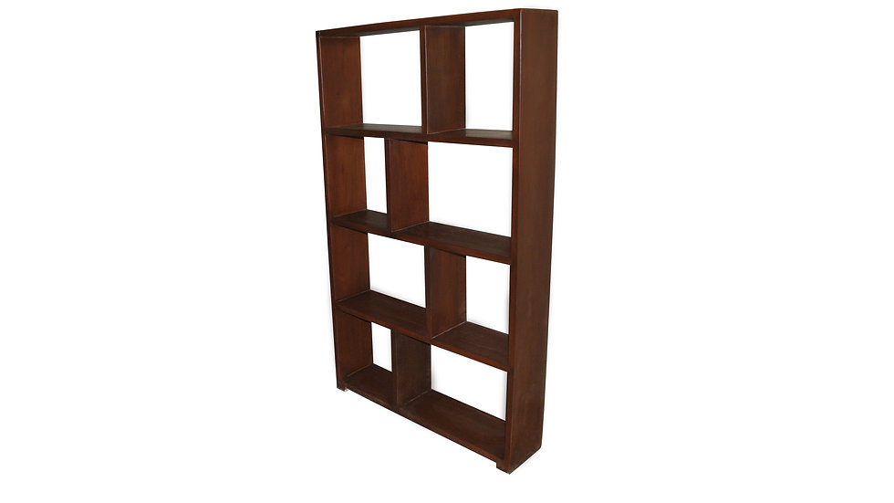 Bookshelf w/ 5 Shelves (Brown)