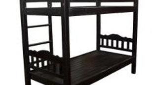 NEW Double Decker Single Bed (Black)