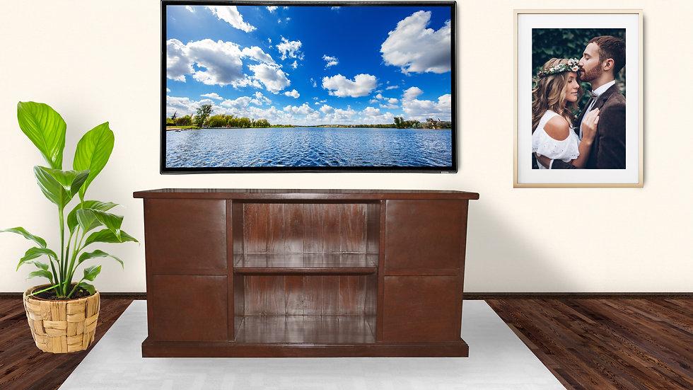 Sally TV Cabinet (Dark Brown)