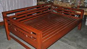 Wooden Day Bed (Brown)