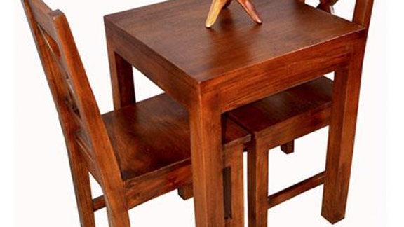 Dining 3-piece Set (Brown)