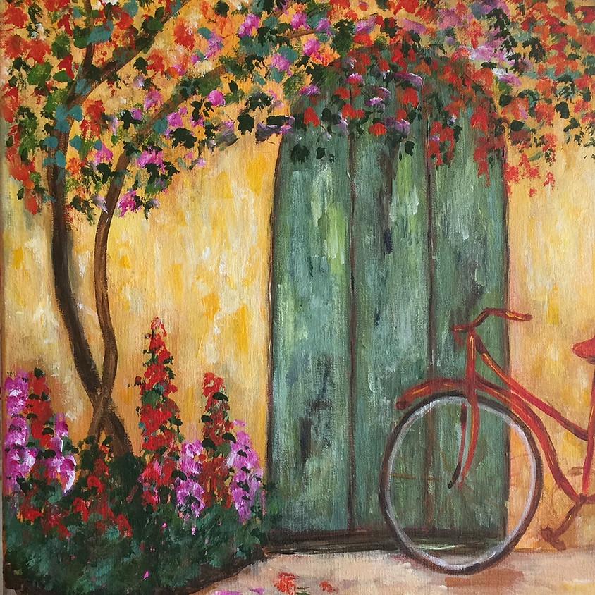 Tuscan Scene @ Paint Pinot Studio 1 - Braddon, Canberra