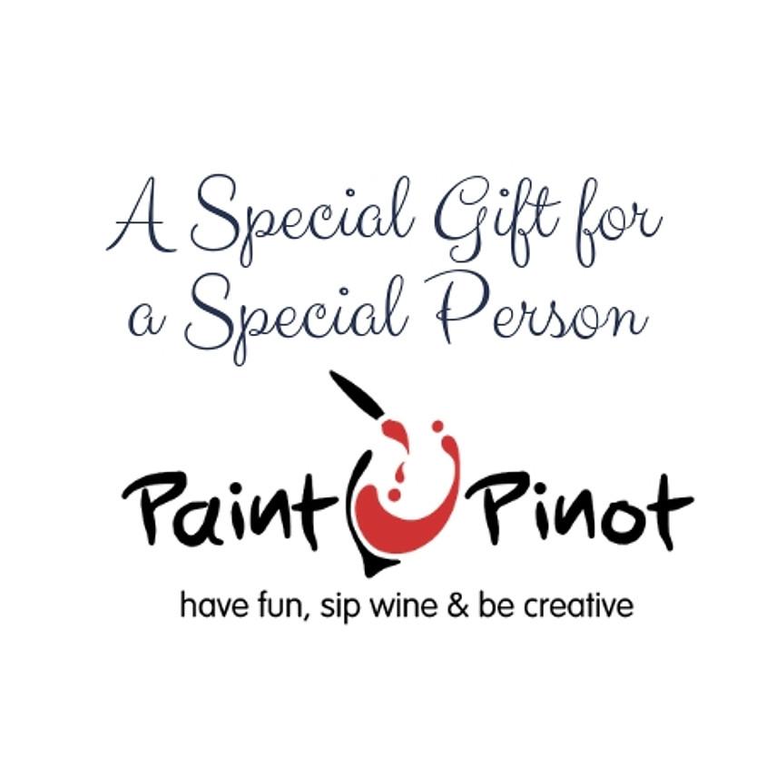 Paint Pinot Gift  Voucher