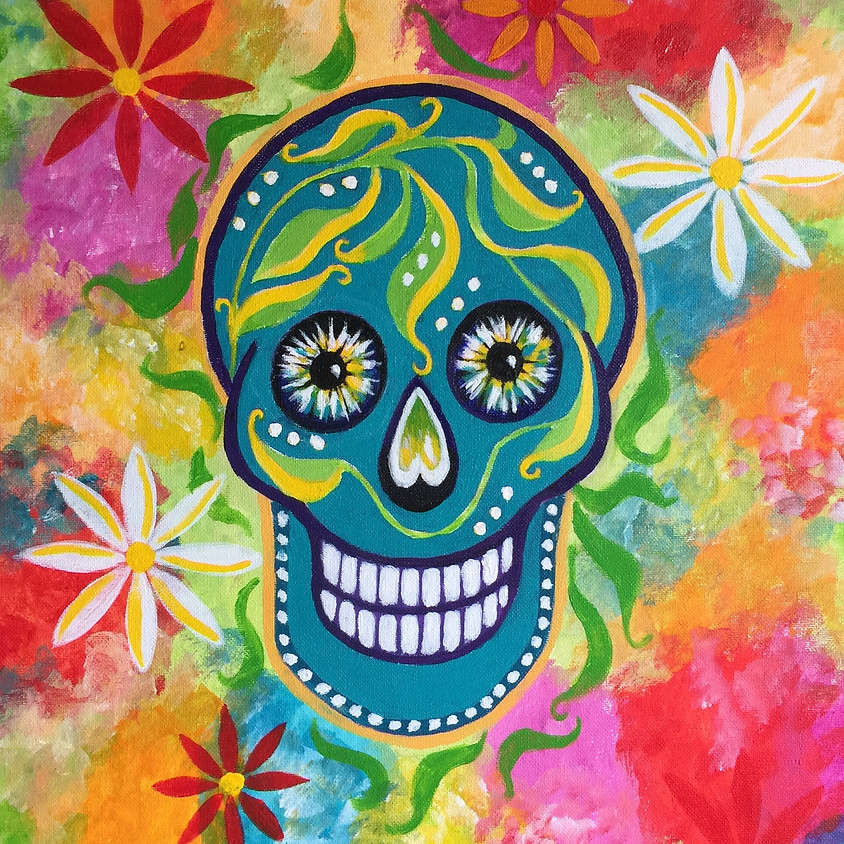 Day Of The Dead @ Paint Pinot Studio 1 - Braddon, Canberra