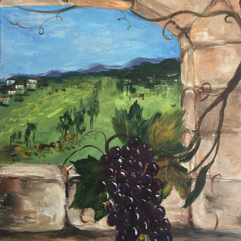 A Vine in Tuscany @ Paint Pinot Studio 1 - Braddon, Canberra