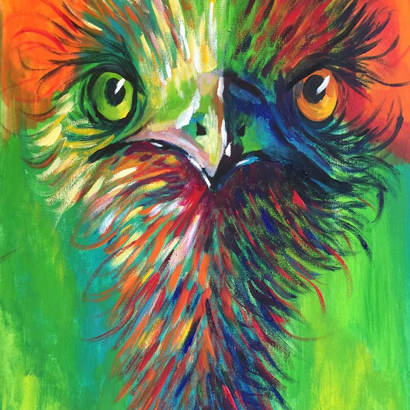 Funky Emu @ Paint Pinot - Studio 1, Braddon Canberra