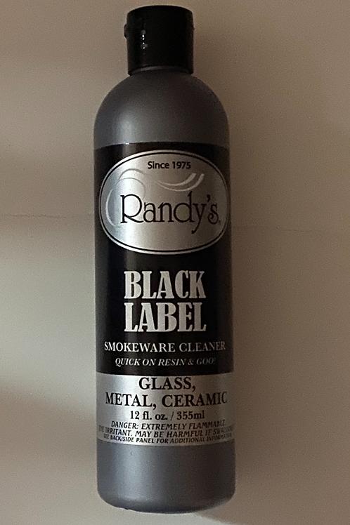 Randy's Black label glass cleaner-12oz