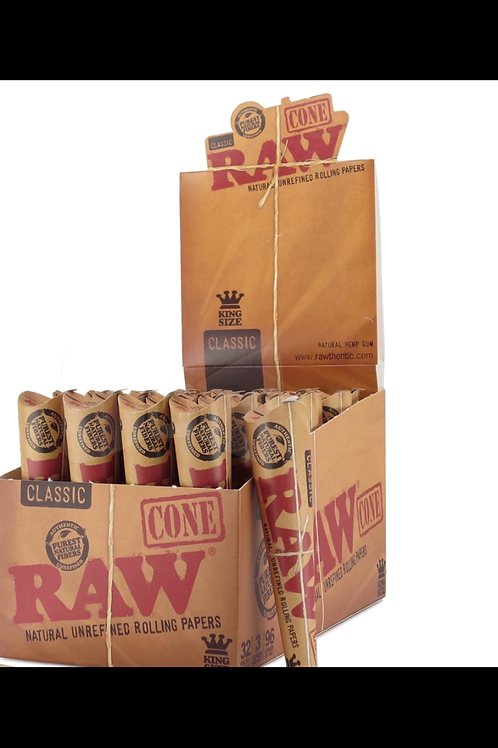 Raw King Size Cones-3 pack