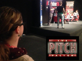 Do You Have the Pitch Factor? (What I learned at London Screenwriter's Festival 2015)