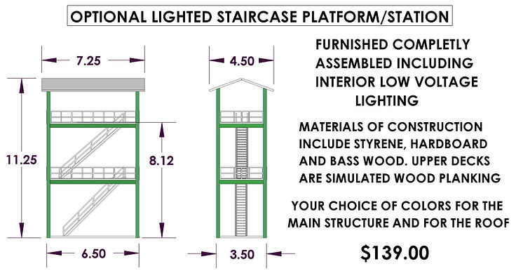 staircase assembly w roof 7-21 $139.00.JPG