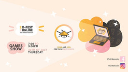 VSA Monash Presents: O-Fest Online