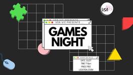 VSA VIC presents: Games Night