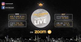 VSA Monash presents: Tonight Live on ZOOM