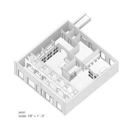 axon of building