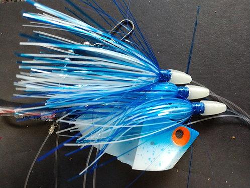 Blue Splatter