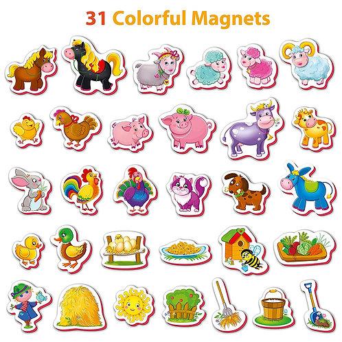 Magnéticos de la granja