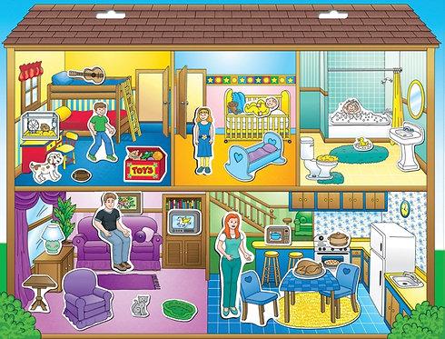 Magnético de la casa