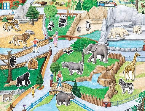 Magnético del zoológico