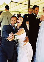 Noiva e noivo Tango